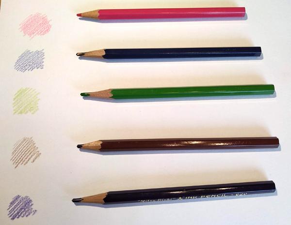 水彩色鉛筆 オススメ